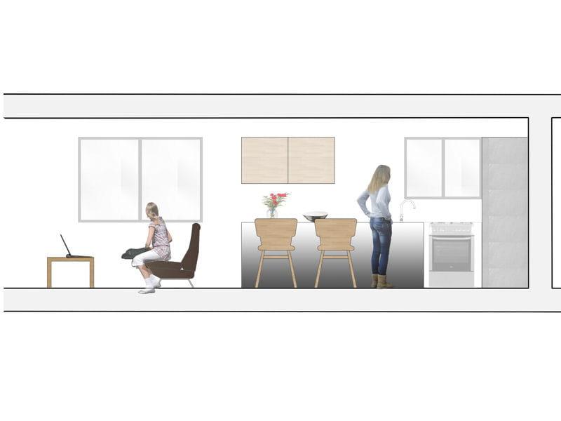 Un lot central pour une cuisine ouverte 5 plans pour for Plan pour amenager sa cuisine