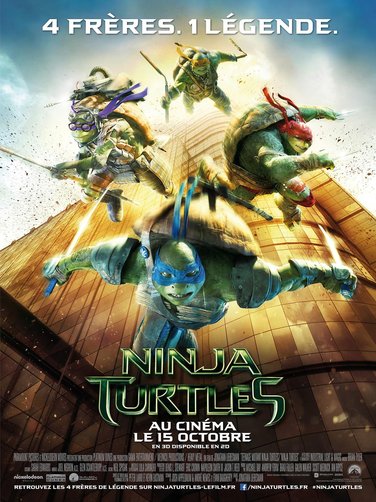 Ninja turtles des carapaces de l 39 humour et des pizzas journal des fe - Journal des femmes com ...