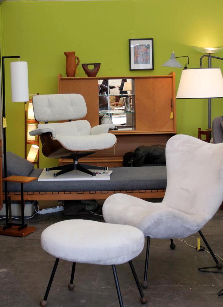 les plus belles pi ces vintage sont aux puces du design journal des femmes. Black Bedroom Furniture Sets. Home Design Ideas