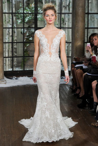 La robe os e ines di santo couture bridal week 2015 de for Robes de mariage dennis basso