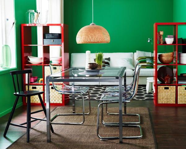 Une table sur mesure 20 astuces d co piqu es ikea for Table sur mesure ikea