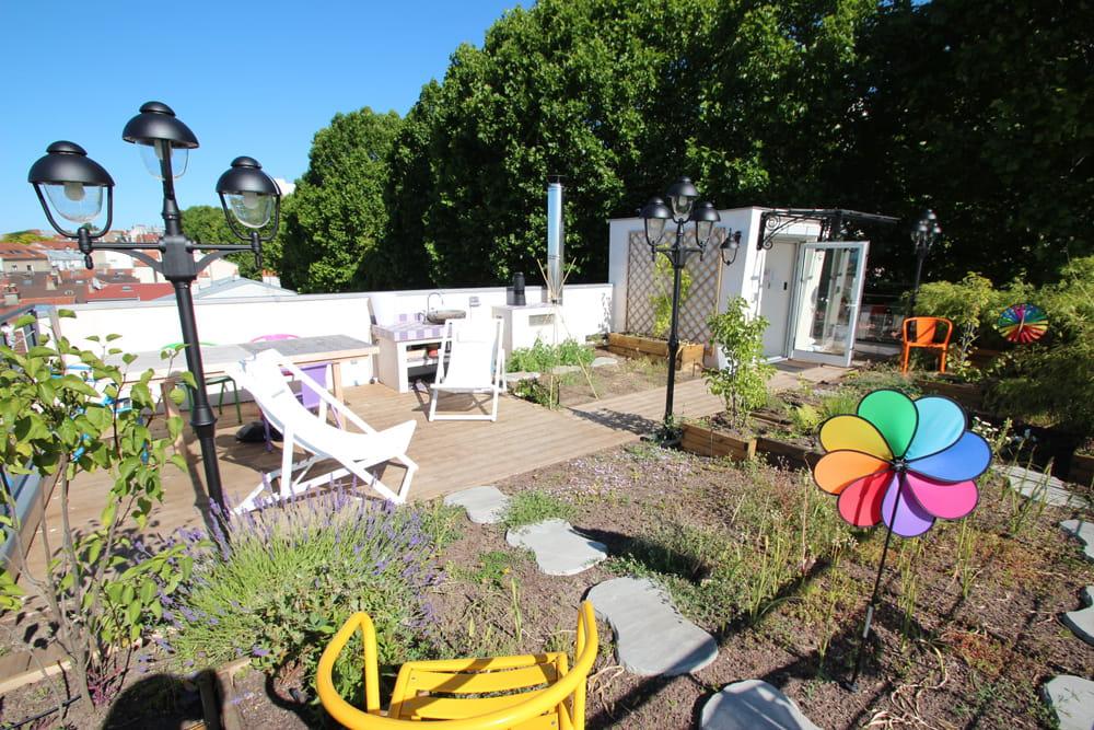 La nouvelle terrasse un jardin suspendu - Terrasse jardin suspendu montreuil ...