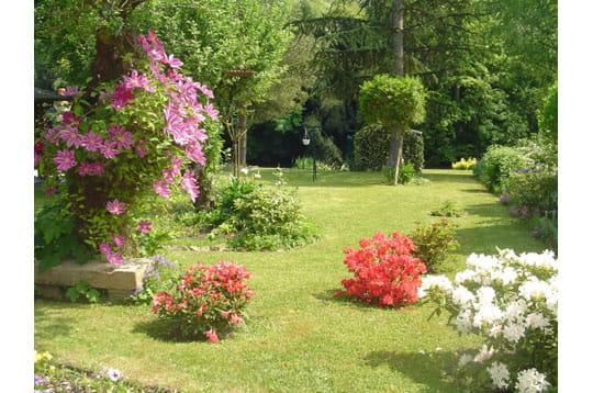 jardin fleuri ma maison mon jardin juin 2007 journal des femmes. Black Bedroom Furniture Sets. Home Design Ideas