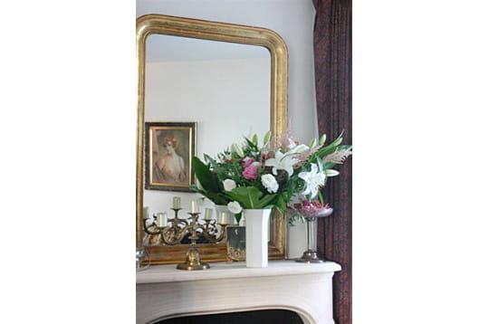 Le reflet du miroir ma maison mon jardin journal des for Le reflet du miroir