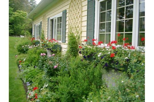jardin l 39 anglaise ma maison mon jardin journal des femmes. Black Bedroom Furniture Sets. Home Design Ideas