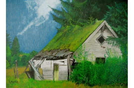 cabane en montagne les plus beaux tableaux des lecteurs journal des femmes. Black Bedroom Furniture Sets. Home Design Ideas