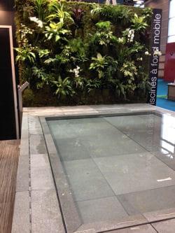 Coups de coeur d tente au salon piscine bien tre for Piscine miroir fond mobile