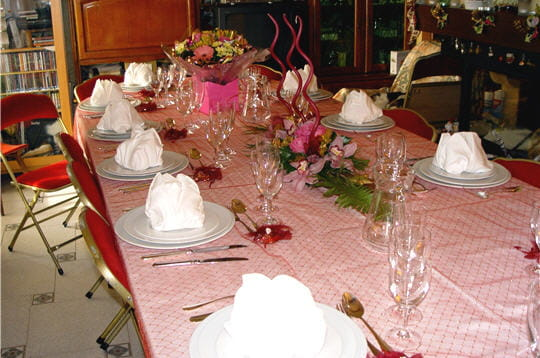 treize table pour no l les plus belles tables de lectrices journal des femmes. Black Bedroom Furniture Sets. Home Design Ideas