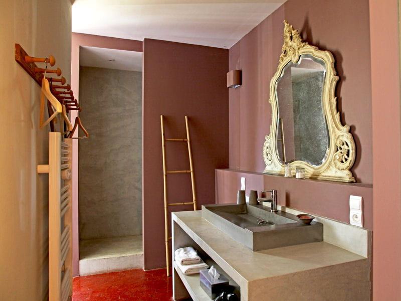 Vieux rose douche l 39 italienne une pluie de bonnes for Deco chambre vieux rose