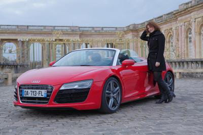 j 39 ai test l 39 audi r8 spyder journal des femmes. Black Bedroom Furniture Sets. Home Design Ideas