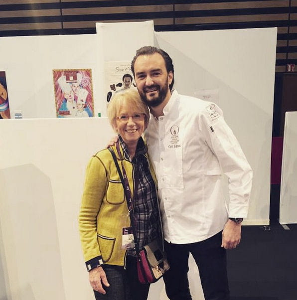 cyril lignac et mercotte officialisent insta 39 chef dans. Black Bedroom Furniture Sets. Home Design Ideas