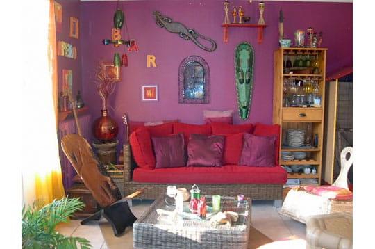 Salon ethnique maisons et jardins de lecteurs juin 2007 for Salon kitsch