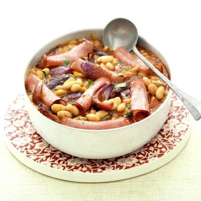 Baked beans l 39 am ricaine 70 recettes de conserves for Jardin a l americaine
