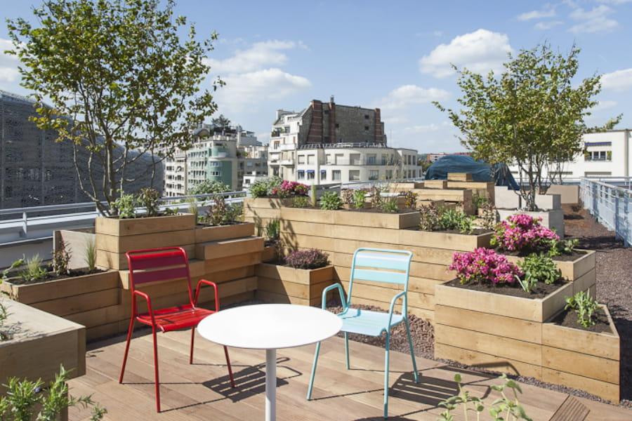 Toit Terrasse Molitor Avis : Le toit terrasse de Molitor 20 terrasses et patios d