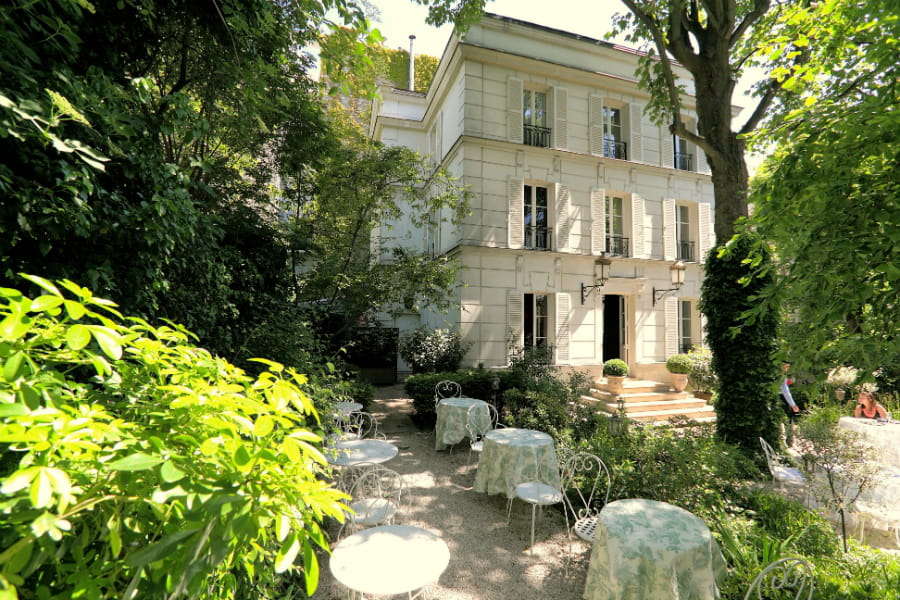 Les jardins de l 39 h tel particulier montmartre 20 for Les jardins de paris hotel