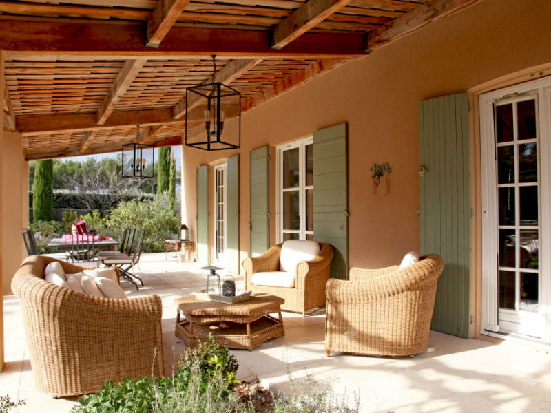Un Salon D 39 T En Rotin Salon De Jardin Les Plus