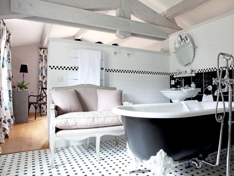 Allure r tro comment faire une salle de bains ouverte sur la chambre jo - Comment faire une salle de cinema ...