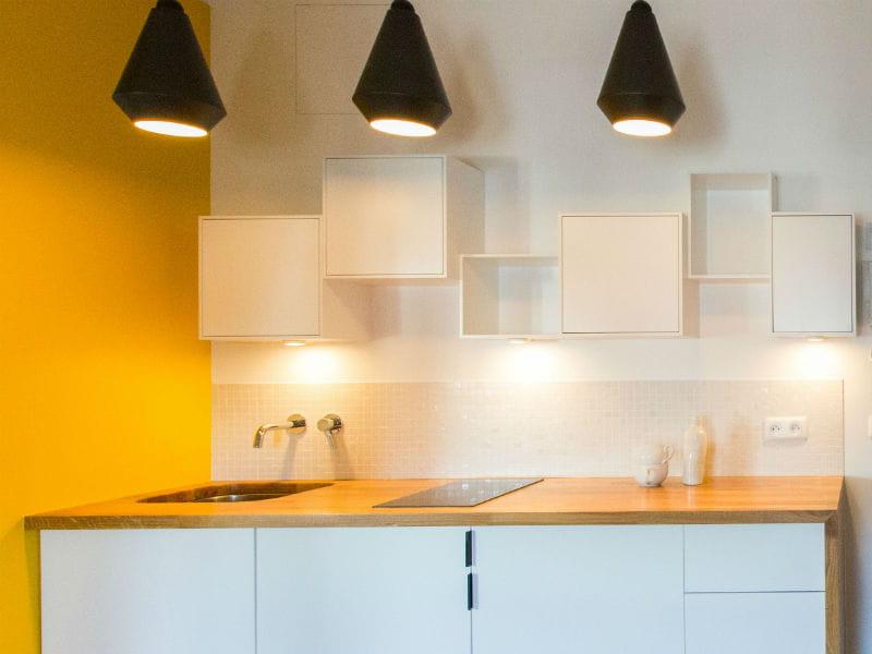 un plan de travail en ch ne. Black Bedroom Furniture Sets. Home Design Ideas