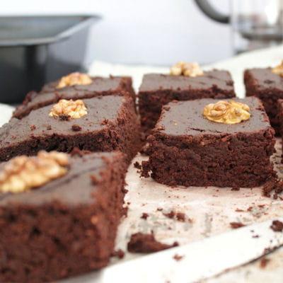brownie sans sucre et sans beurre 65 recettes de. Black Bedroom Furniture Sets. Home Design Ideas