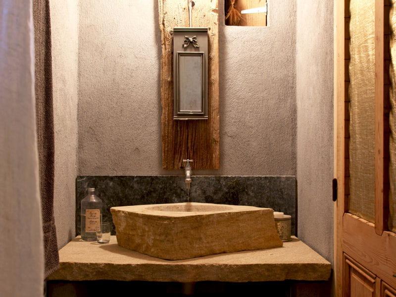 esprit nature salle de bains 80 id es top piquer aux d corateurs journal des femmes. Black Bedroom Furniture Sets. Home Design Ideas