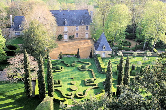 Le jardin fran ais les jardins du manoir d 39 eyrignac Le jardin francais