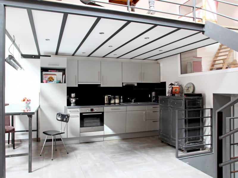 Une cuisine ouverte de style industriel 40 cuisines ouvertes pratiques et - Cuisine style industriel ...