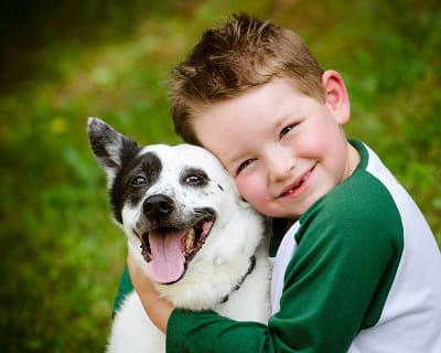 avec un animal, l'enfant devient plus responsable
