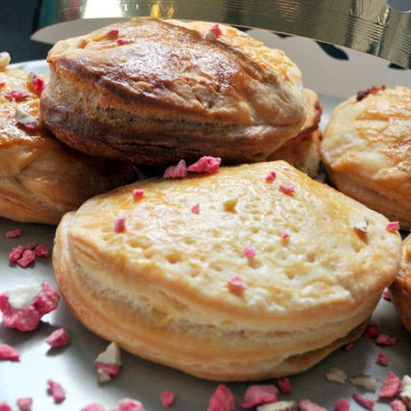 galette frangipane chocolat blanc pralin rose