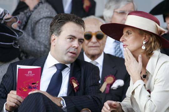 Luc Chatel - Les People à Longchamp - Journal des Femmes People