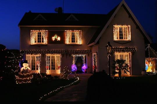 Les plus belles d corations pour no l maisons illumin es for Decoration noel interieur maison