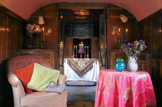 De l 39 art divinatoire roulottes l 39 esprit boh me for Roulotte decoration
