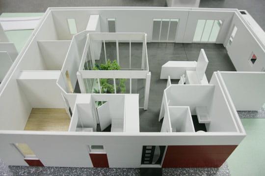 La maison inov en maquette des maisons modulaires for Maquette de maison