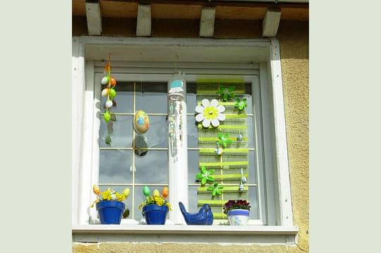 Pâques à la fenêtre  Des idées déco pour Pâques  Journal