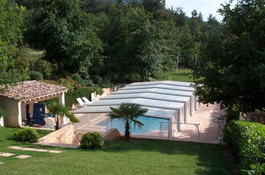 Mod le p rigord d 39 eureka les mod les d 39 abris de piscine for Abris piscine eureka