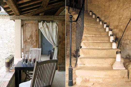 Petite terrasse pour la causette au comptoir saint for Petite terrasse deco
