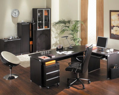 option contemporaine 5 ambiances de bureaux journal des femmes. Black Bedroom Furniture Sets. Home Design Ideas