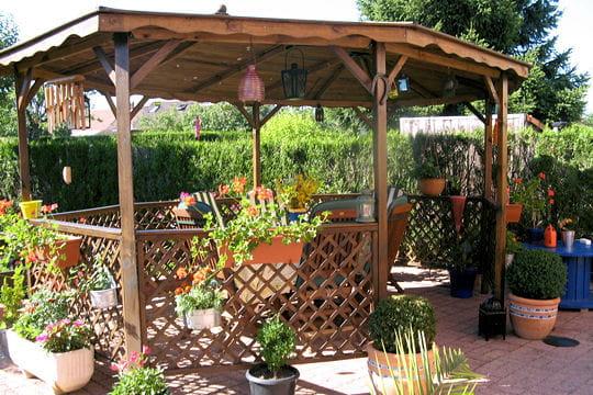 Terrasse couverte  les exemples imaginés par les lecteurs Le jardin