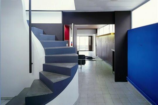 Viste de l 39 appartement atelier le corbusier visite de l for Appartement atelier
