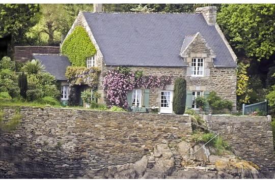 Jolie Maison Traditionnelle Mo Lan Sur Mer 20 Maisons Bretonnes Journal Des Femmes