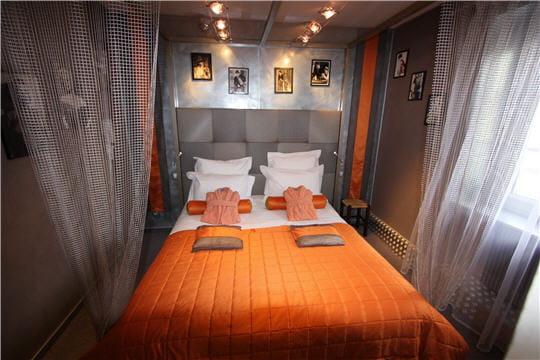 Beautiful Decoration Chambre Orange Et Gris Photos - Design Trends ...