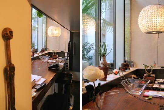 cuisine bar une nuit dans un loft journal des femmes. Black Bedroom Furniture Sets. Home Design Ideas