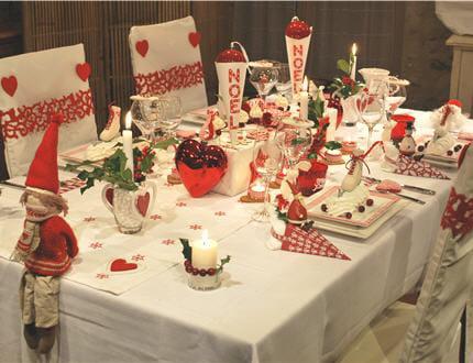 Id E Deco Table Noel