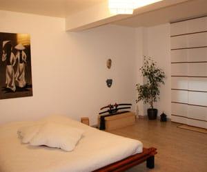 nous nous sommes inspir s d 39 une ambiance japonaise et zen visitez la maison de charlene. Black Bedroom Furniture Sets. Home Design Ideas