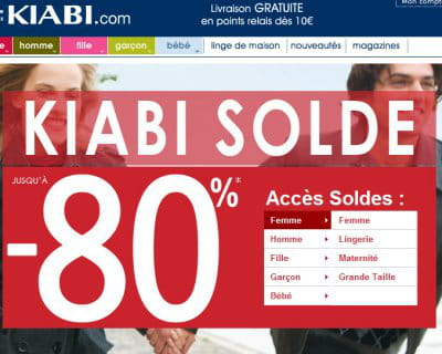 KIABI.com - Soldes : les bons plans du Net - Journal des Femmes Mode