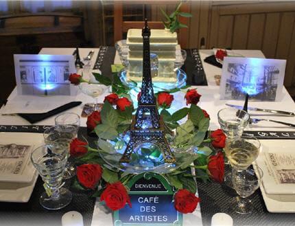 table paris je t 39 aime les jolies tables de stef. Black Bedroom Furniture Sets. Home Design Ideas