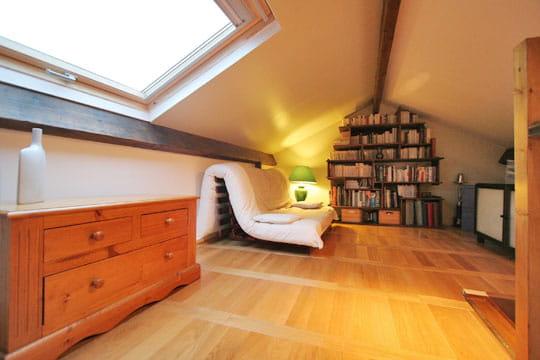 la mezzanine apr s home staging journal des femmes. Black Bedroom Furniture Sets. Home Design Ideas