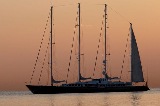 Le Phocea yacht de Mouna Ayoub