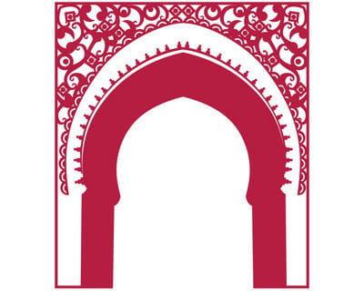 Un d cor de palais for Decoration porte orientale