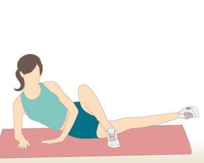 Battements les jambes crois es 10 exercices pour s for Exercice muscler interieur cuisse
