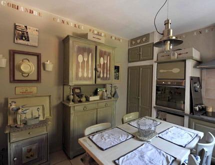 Une cuisine customis e visitez la maison de pascale journal des femmes - La maison de pascale ...